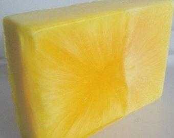 lemongrass sage soap, bath, beauty, glycerin soap, handmade soap, fruity soap, normas bath