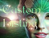 Custom Personalized Portrait Listing for Stephanie