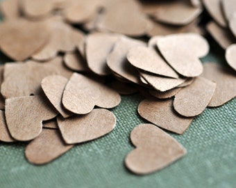 Tiny Hearts // Set of 100 // Decoration // Confetti // Embellishment // Ephemera // Party Decor