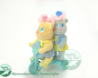 Bitsy Bears Hopsy and Skipples 1990s Toy by Tyco
