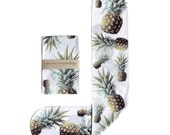 White Pinapple Socks