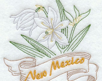 New Mexico Yucca State Flower Flour Sack Hand/Dish Towel