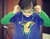 Mardi Gras Carnival kids t-shirt
