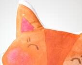 Fox Cushion Printed