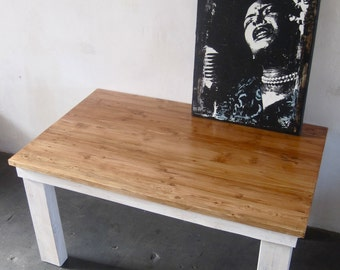 Beautiful Reclaimed Wood Dining Table .Made in LA
