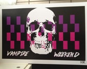 Vampire Weekend band poster print