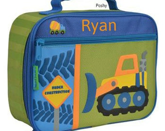 Personalized Lunch Box Stephen Joseph Construction