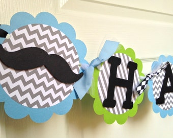 Little Man Birthday Banner, Little Man Party Decorations, Little Man Party Banner, Little Man Party Supplies, Little Man First Birthday