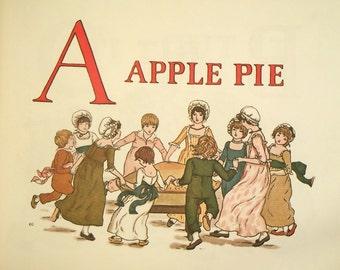Kate Greenaway book A Apple Pie