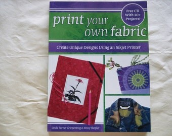 PRINT Your OWN FABRIC Soft Cover Book Easy Way To Create Your Fabric Prit Design Using Inkjet Printer.