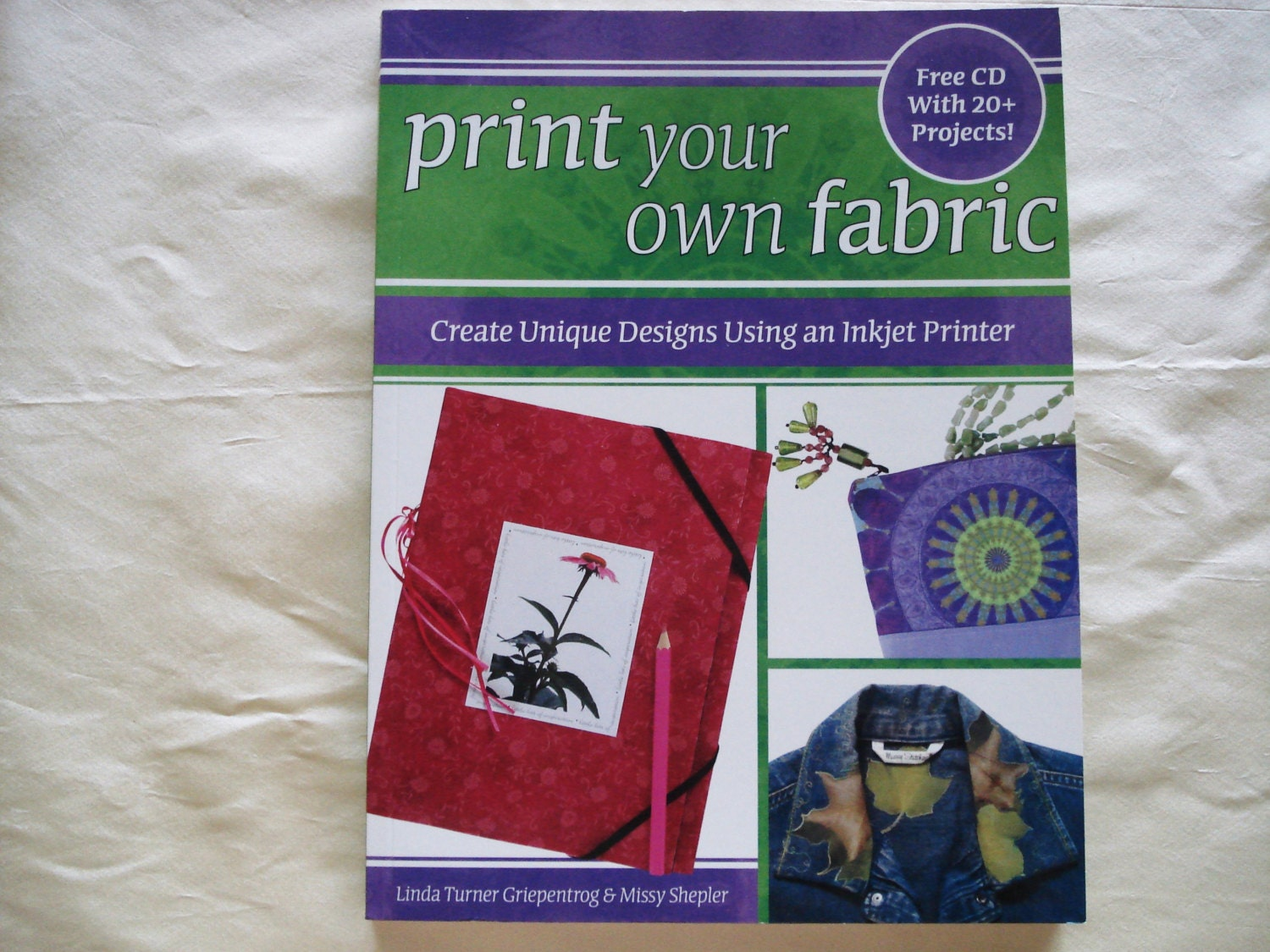 Fabric Book Covers Make Your Own : Print your own fabric soft cover book easy way to create