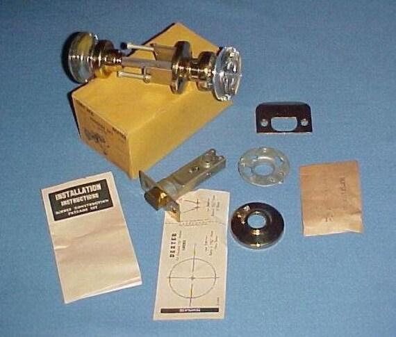 1950 39 s glass door knob set dexter new old stock mid for 1950 door knobs
