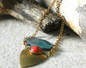 Jan Michaels Gem Stone Necklace