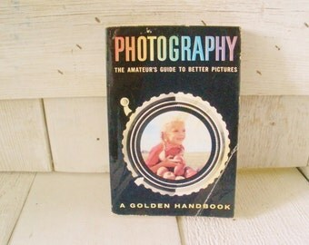 Vintage photography book Golden Handbook amateurs guide to better pictures 1956