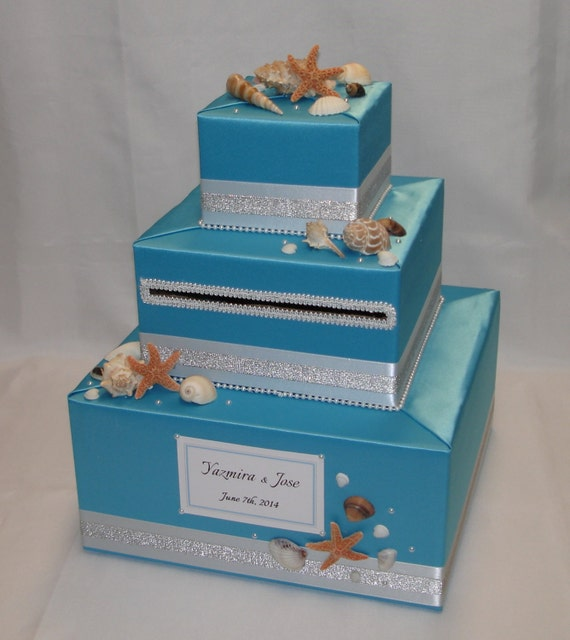 Wedding Gift Card Box Beach Theme : ... Plates Dolls & Miniatures Figurines Music Boxes Postage Stamps