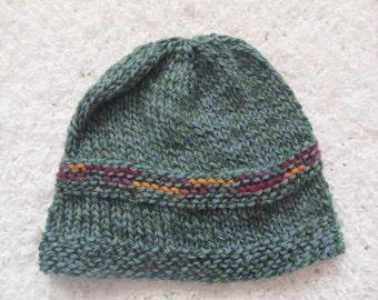 Knit wool hat
