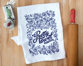 The Pretty Towel Don't Touch Me - Dish Towel