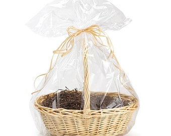 """24""""x30"""" Crystal Clear Large GIFT BASKET BAGS Cello Drop-In (You Choose Qty!)"""