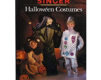 Singer Halloween Costumes Reference Library Hardback Book