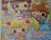 Fast Shipping Brand New Kawaii Mermaid Princess Memo / Note / Scratch / Doodle / Message Pad Book