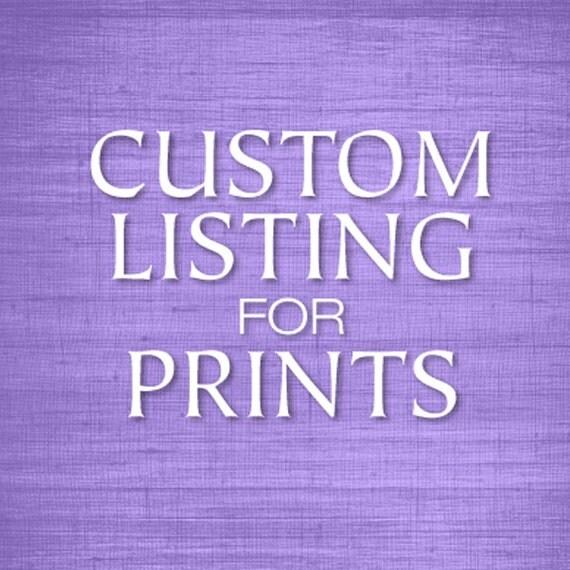 Custom listing Frame option for Brad