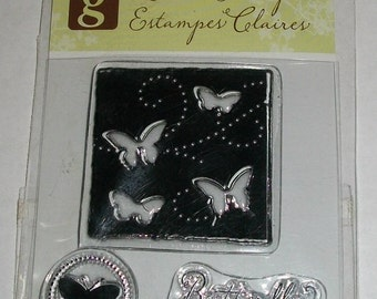 Studio G Butterflies Clear Stamps