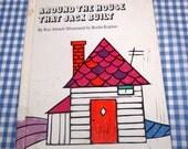 SALE around the house that jack built, vintage 1972 children's book