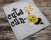 Cute As Can Bee Gender Neutral Infant Bodysuit