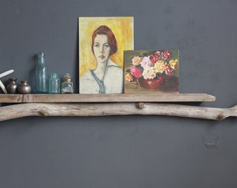 Natural Driftwood Shelf - Mantle // Size EXTRA LARGE