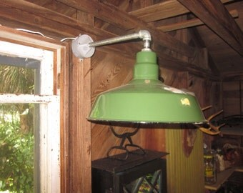 Abolite Electric Green Indoor/Outdoor Light