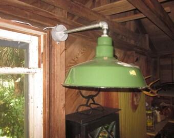 Abolite Electric Green Indoor/Outdoor Light
