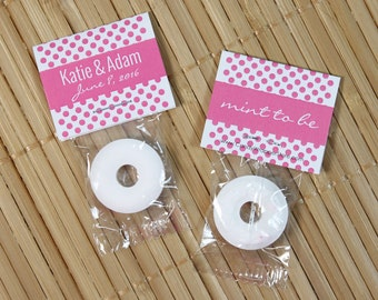 Wedding Mint to Be Lifesaver Favors - set of 100