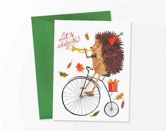 Let's celebrate - birthday card