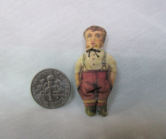 Tiny Victorian Boy Rag Doll By Miniaturesbyjoan On Etsy