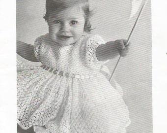 Crochet Pattern, Crochet Baby Dress Pattern, Instant Downloadable Pattern,