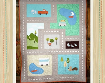Scenic Route Quilt PATTERN ONLY
