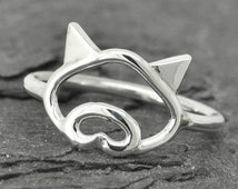 Pig ring, little piggy ring, 925 sterling silver, animal ring, pig jewelry, kids ring, kids jewelry