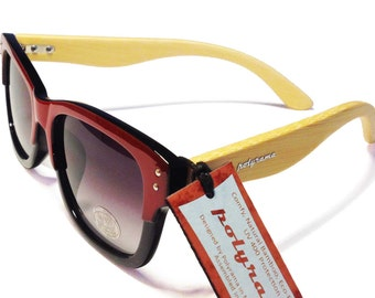 Polyrama Natural Bamboo Sunglasses