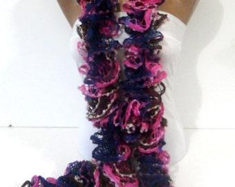 Ruffle Scarf, Women Fashion Scarf, 2014 Trendy Ruffle Scarf