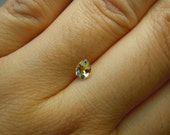 Genuine Montana Sapphire Yellow Pear cut .49 carat loose gemstone for engagement, jewelry or collections, perfect for gifting
