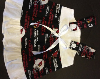 NFL Arizona Cardinals  Baby Infant Toddler Girls Dress  You Pick Size