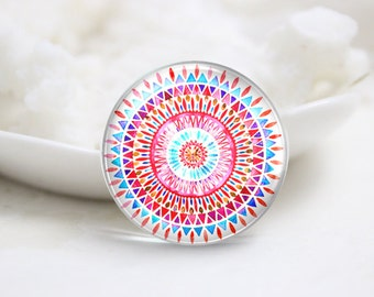 10mm 12mm 14mm 16mm 18mm 20mm 25mm 30mm Handmade Round Photo Glass Cabochons (P1366)