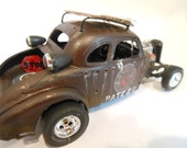 Classicwrecks Scale Model Rusted Rat Rod Car