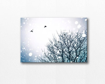 birds photography canvas print large 12x18 24x36 fine art photography canvas wrap large birds in flight canvas art gallery wrap birds flying
