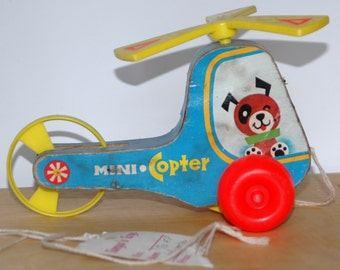 1970 Fisher Price Mini Copter