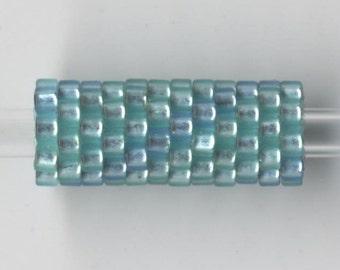 Woven Glass Bead Tube ... ... ... ... 6mm/o-2mm/i ... ... ... ... ... 12x08 * 376