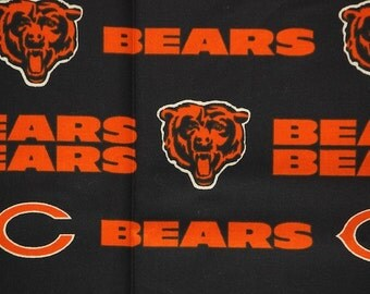 NFL Chicago Bears 100% Cotton V3 Fabric