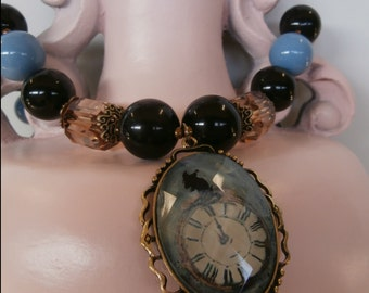 """Cyber Monday Sale, """"The Dreamer"""" Necklace N0042"""