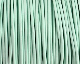 2mm Splash Round Leather Cord - 15 Feet