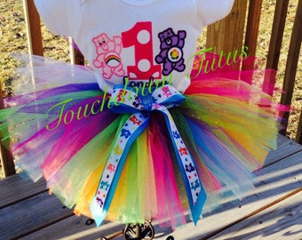 Care Bear Tutu birthday outfit - pick your number